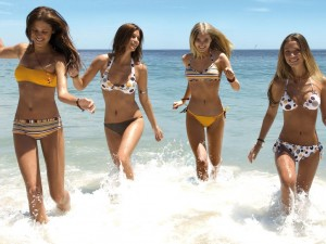 chicas playa