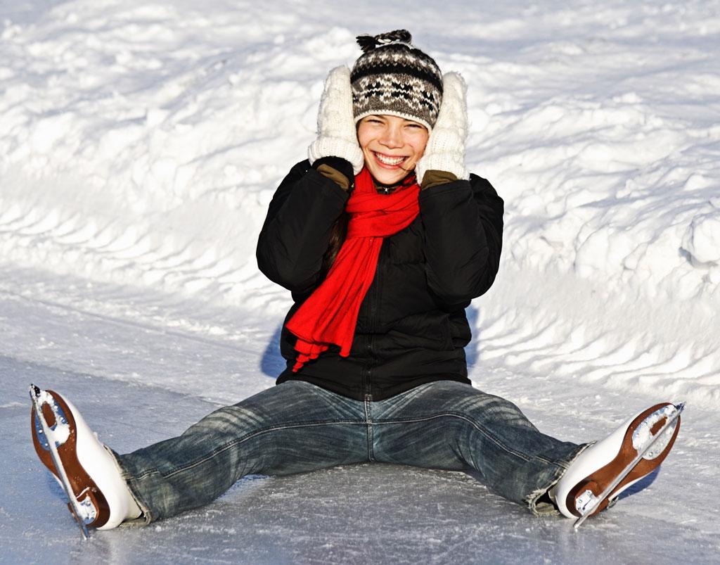Perder peso patinando