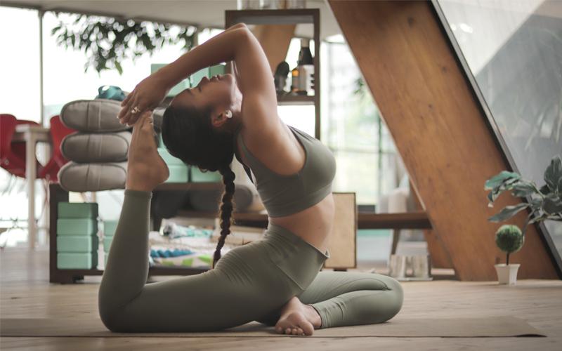 Yoga durante la cuarentena